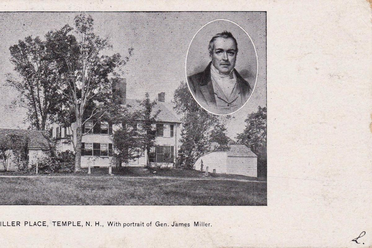 General Miller home and portrait