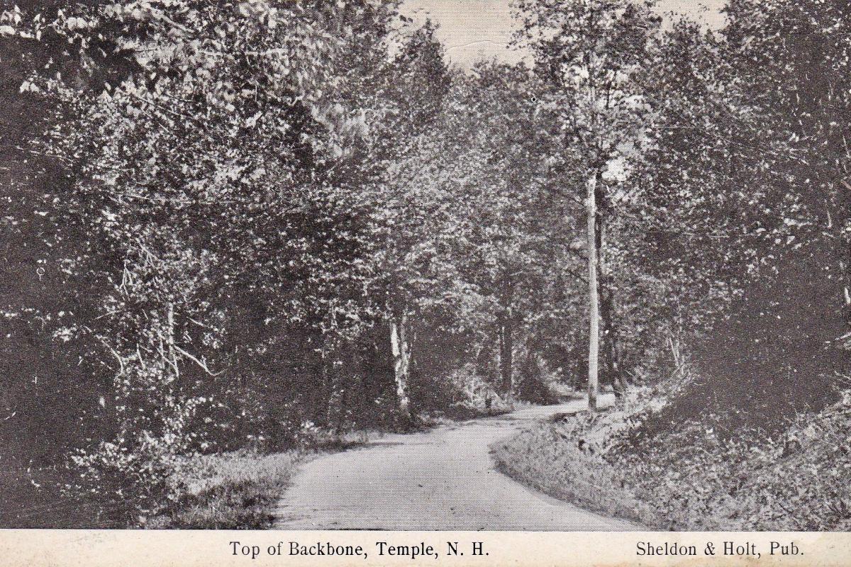 Top of Backbone road
