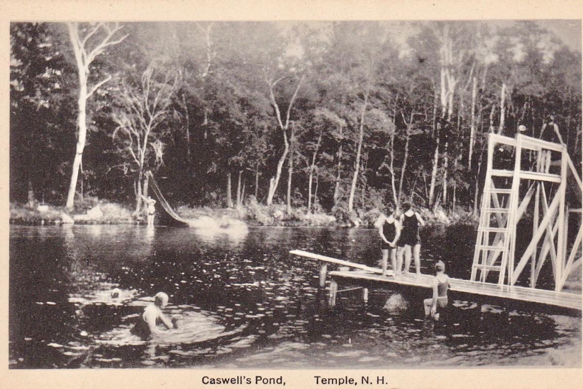 Caswell's pond swimming area