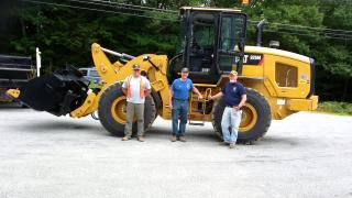 Photo of front loader